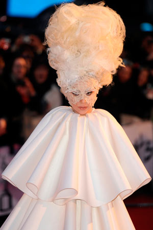 Lady Gaga's Craziest Hairstyles Ever