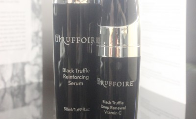 Truffoire Black Truffle Reinfocing Serum and Black Truffle Deep Renewal Vitamin C