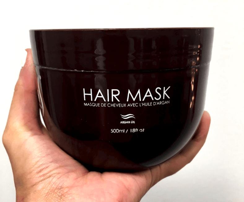 mask de cheveux