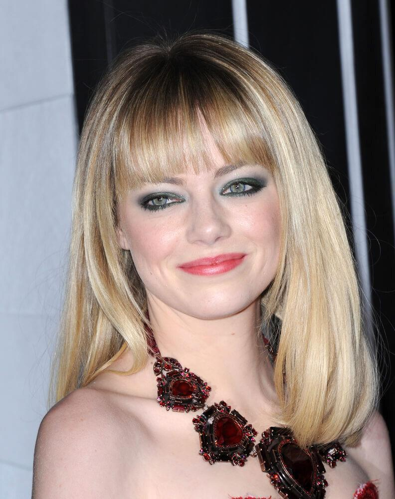 "LOS ANGELES - FEB 05: Emma Stone arrives to the ""Gangster Squad"" Los Angeles Premiere on January 07, 2013 in Hollywood, CA"