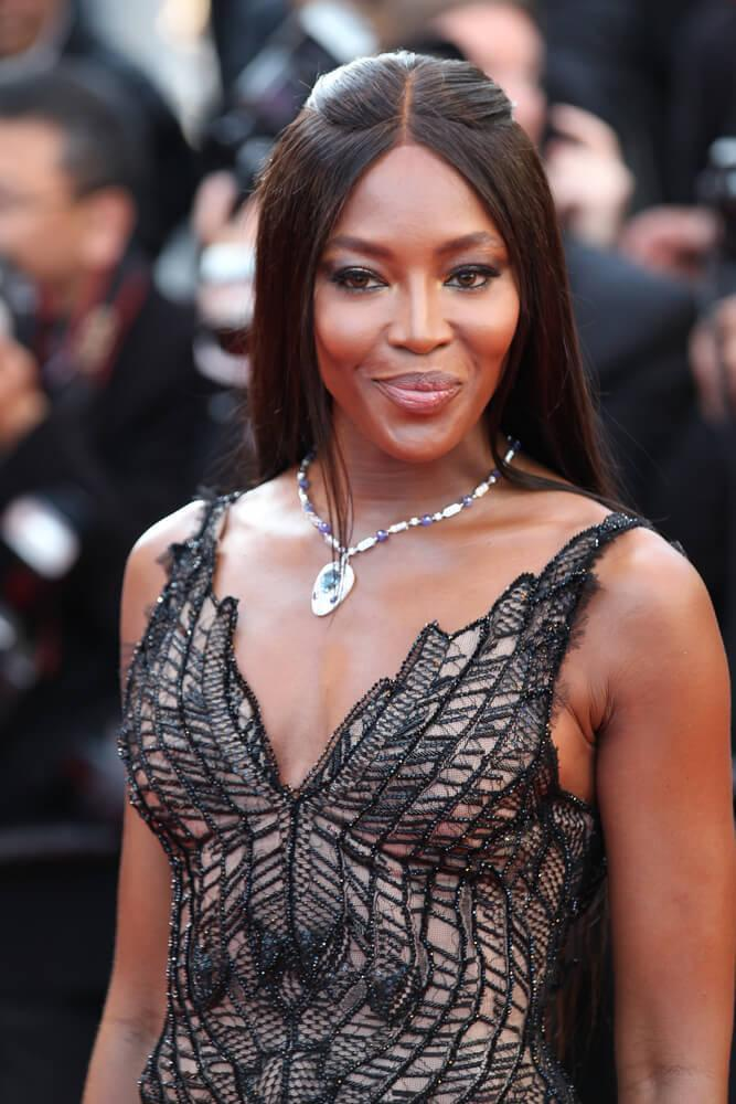 CANNES - MAY 23, 2017: Naomi Campbell attends the 70th anniversary event during the 70th annual Cannes Film Festival at Palais des Festivals in Cannes