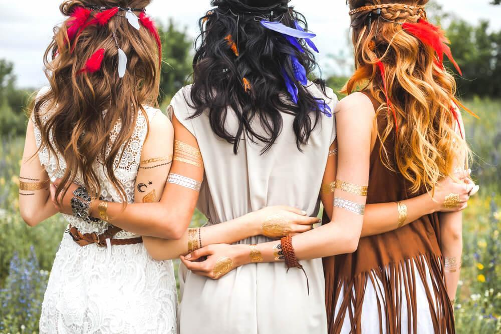 Bohemian-inspired hairstyles